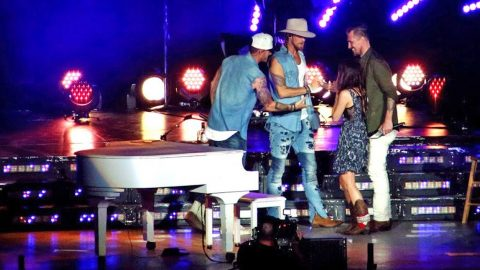 Florida Georgia Line Helps Surprise Woman With Tear-Jerking Onstage Proposal | Country Music Videos