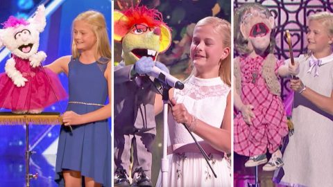 Re-Live All Of 12-Year-Old Ventriloquist Darci Lynne's 'America's Got Talent' Performances | Country Music Videos
