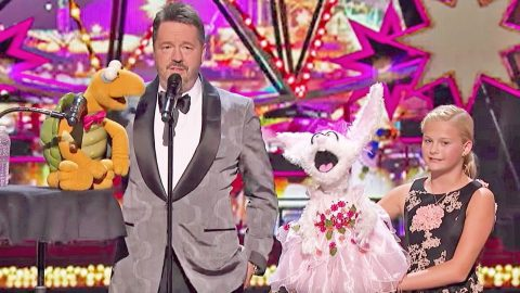 Darci Lynne Competes Against Famous Ventriloquist Terry Fator In Spectacular Sing-Off | Country Music Videos
