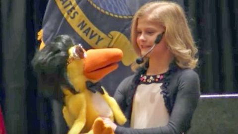 Darci Lynne's Elvis-Impersonating Puppet Will Get You 'All Shook Up' Singing The King's Hit | Country Music Videos