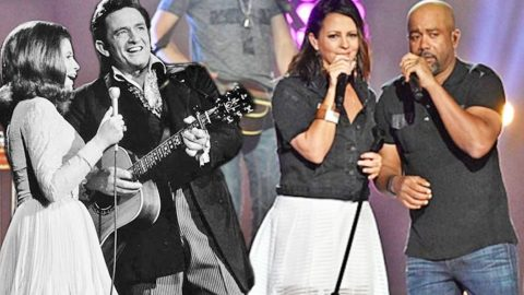"Darius Rucker & Sara Evans Team Up For Duet Of ""Jackson"" | Country Music Videos"
