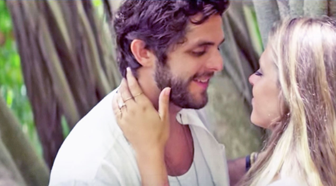 Thomas Rhett S Wife Lauren Stars Die A Happy Man Music Video Country Rebel