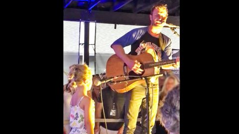 Dierks Bentley Invites His 5-Year-Old Daughter To Join Him On Stage And It's Adorable | Country Music Videos