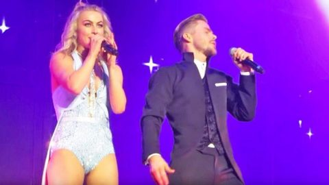 Julianne & Derek Hough Show Off Their Insane Vocal Skills With Adorable Disney Medley | Country Music Videos