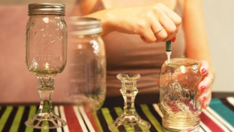 DIY: How To Make A Redneck Wine Glass! | Country Music Videos