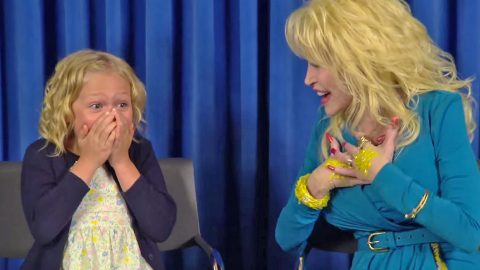 Dolly Parton Surprises Child Actor With Starring Role In 'Coat Of Many Colors,' And It's Adorable! | Country Music Videos