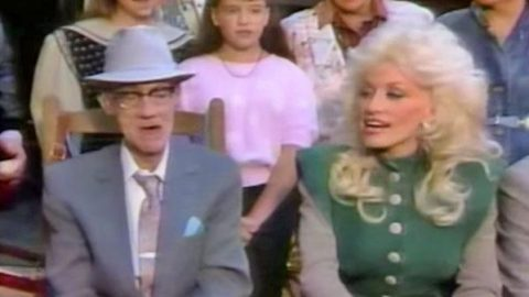Dolly Parton Beautifully Covers 'Amazing Grace' With Grandfather Who Taught Her To Sing | Country Music Videos