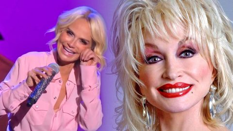 """Broadway Star Kristin Chenoweth's Tearful """"I Will Always Love You"""" Performance 