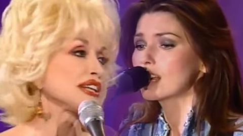 Dolly Parton feat. Shania Twain –  Coat Of Many Colors | Country Music Videos