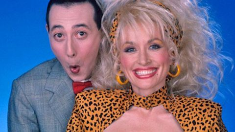 """Dolly Parton Sings """"Hey Good Lookin'"""" On Pee Wee's Playhouse (VIDEO) 