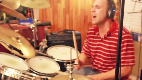 Spice Up Your Life With This Man's Sizzlin' Drum Cover Of 'Don't Ask Me No Questions' | Country Music Videos