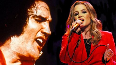 "Elvis Presley & His Daughter, Lisa Marie, Singing ""Don't Cry Daddy"" Will Give You Chills 