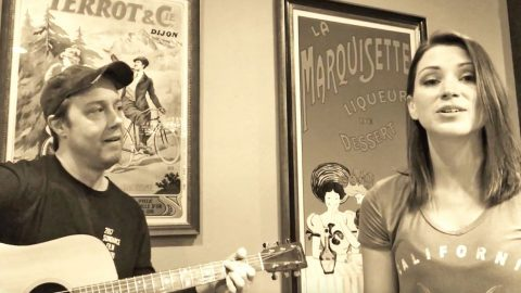 Duo Brings Smooth-As-Honey Harmonies To Acoustic 'Sweet Home Alabama' Cover | Country Music Videos