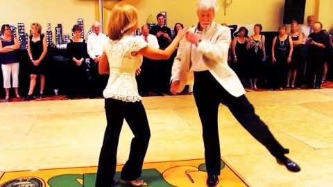 Dancing Couple Wows with Show-Stopping Talent During Unforgettable Performance! | Country Music Videos