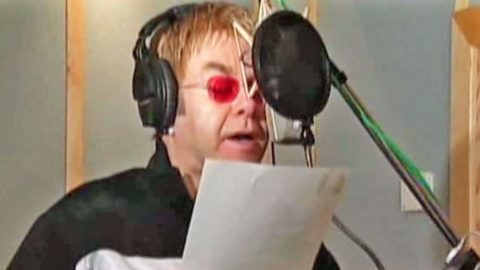 Elton John Serves Up Major Twang In Throwback Country Song | Country Music Videos