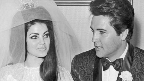 elvis priscilla presley wedding photos