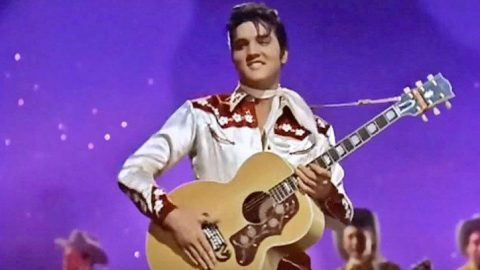 Elvis Presley Makes The Ladies Go Wild During Performance Of 'Teddy Bear'   Country Music Videos