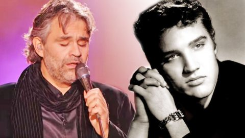 Andrea Bocelli's Dreamy Ode To Elvis' 'Can't Help Falling In Love With You' Will Give You Chills | Country Music Videos