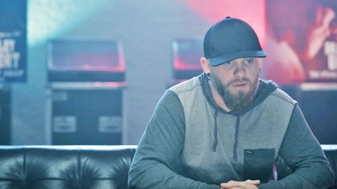 Brantley Gilbert Emotionally Sings Of Faith In Baptismal New Song 'Three Feet Of Water' | Country Music Videos