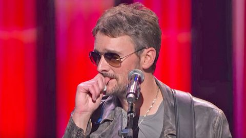 Eric Church Bursts Into Tears Honoring Vegas Victims | Country Music Videos