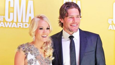 Carrie Underwood Face Swaps With Husband Mike Fisher, And It's HYSTERICAL! | Country Music Videos