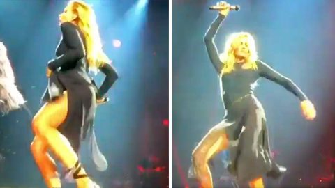 Faith Hill Breaks It Down On Stage With Sexy Dance Moves | Country Music Videos