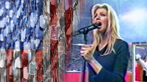 Faith Hill Singing the National Anthem (WATCH) | Country Music Videos