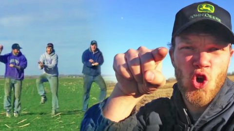 """Three Brothers Sing And Dance About Life On A Farm In Hilarious """"Gangnam Style"""" Parody   Country Music Videos"""