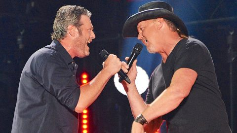Blake Shelton & Trace Adkins Rock CMA Music Fest With Rambunctious 'Hillbilly Bone' | Country Music Videos