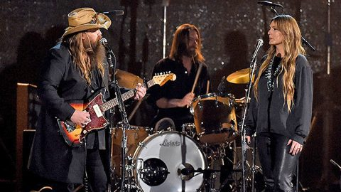 Chris Stapleton And Wife Steal ACM Awards With Mind-Blowing Performance | Country Music Videos