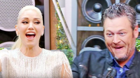 Blake Shelton & Gwen Stefani Get Flirty In Revealing Game Of 'Who's Who' | Country Music Videos
