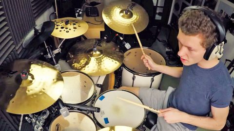 17-Year-Old Scottish Drummer's Pounding 'Free Bird' Solo Will Leave You Awestruck | Country Music Videos