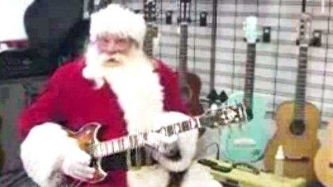 Santa Teaching You How To Play Free Bird Is The Best