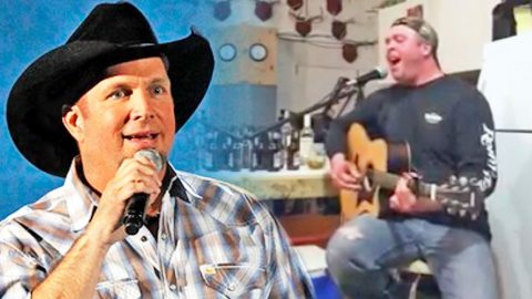 Man Sings Garth Brooks Song, But What Comes Out Of His Mouth