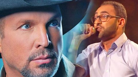 """Shady Sheha Wows With Garth Brooks' """"Standing Outside The Fire"""" (LIVE The Voice Germany) (VIDEO) 