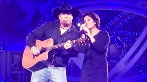 Cancer Survivor Joins Garth Brooks For Unforgettable Performance Of 'I Told You So' | Country Music Videos