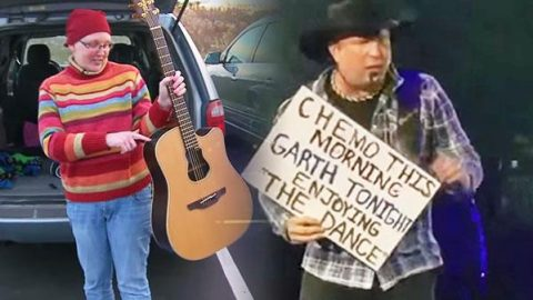 Garth Brooks Stops Live Performance To Recognize Woman With Cancer (Tear-Jerker) (WATCH) | Country Music Videos