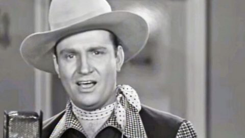 Singing Cowboy, Gene Autry, Performing Classic Medley Is One Throwback Y'all Can't Miss | Country Music Videos
