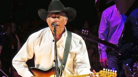 It Doesn't Get Any Better Than Hearing George Strait Sing A Merle Haggard Classic | Country Music Videos