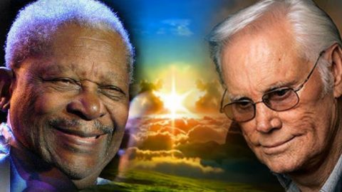 """George Jones And B.B. King Sing """"Patches"""" Duet For 1994 Album 