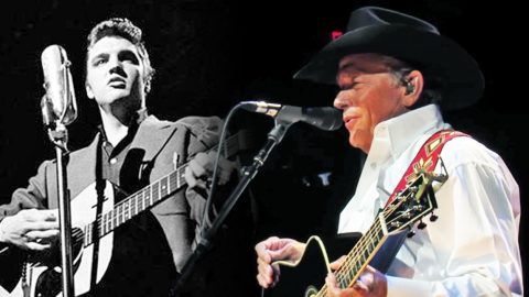 Stop What You're Doing And Watch George Strait's Bluesy Elvis Presley Tribute | Country Music Videos