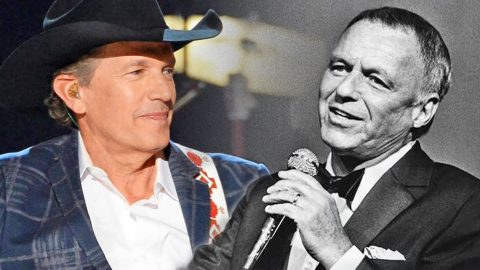 Frank Sinatra And George Strait's Voices Put Together For 'Fly Me To The Moon' Virtual Duet | Country Music Videos
