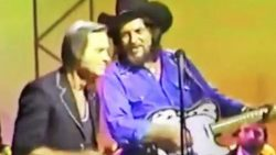 George Jones & Waylon Jennings Bring Down The House With Epic Duet   Country Music Videos