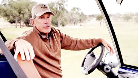 George Strait Proudly Shows Off His New Set Of Wheels | Country Music Videos