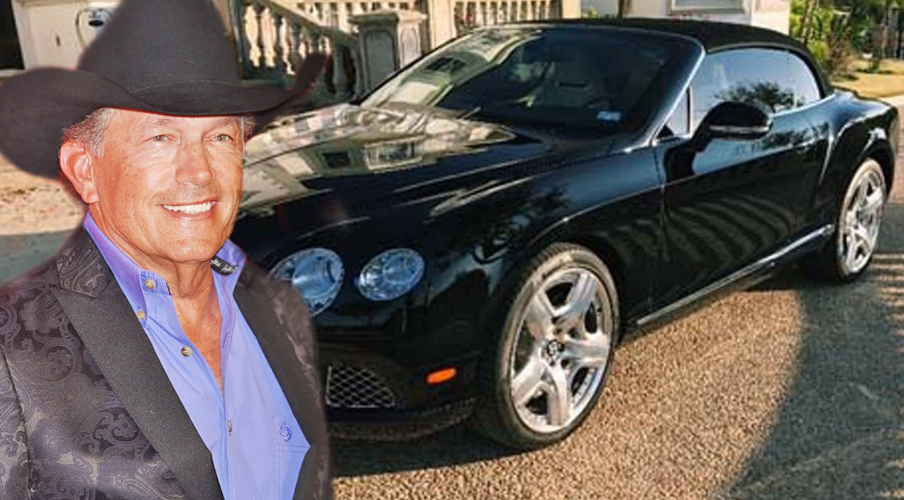 George Strait's Bentley Is Being Sold For Wild Price ...