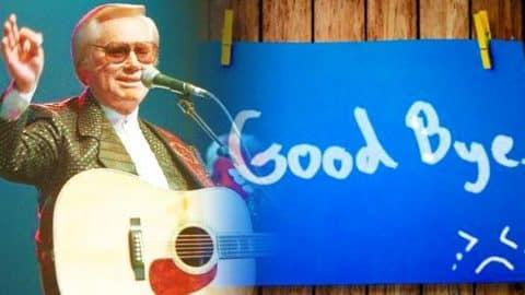 George Jones – A Goodbye Joke (WATCH) | Country Music Videos