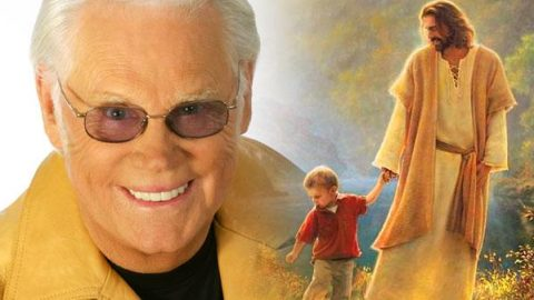 George Jones – Jesus Hold My Hand (WATCH) | Country Music Videos
