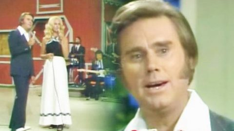 George Jones and Tammy Wynette – We're Not The Jet Set (LIVE) | Country Music Videos