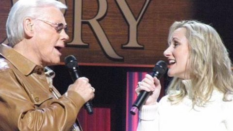 George Jones & Daughter Sing Tearjerking Duet In Original Song Of Forgiveness | Country Music Videos