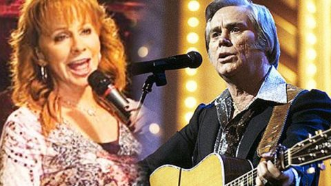 Reba McEntire & George Jones – Me And Jesus (Rare Footage) (LIVE) | Country Music Videos